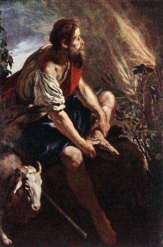 Domenico Feti, Moses