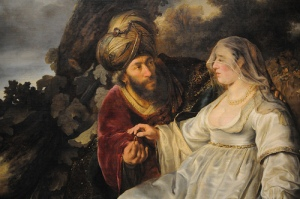judah and tamar - ferdinand bol 1644