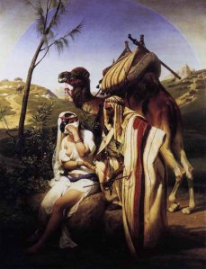judah and tamar - horace vernet 1789-1863